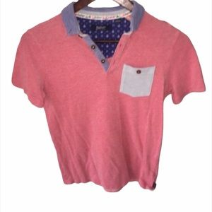 Kid's Baker by Ted Baker Red & Blue Polo